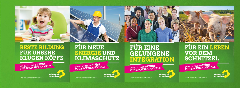 Unsere Themenplakate zur Landtagswahl 2016