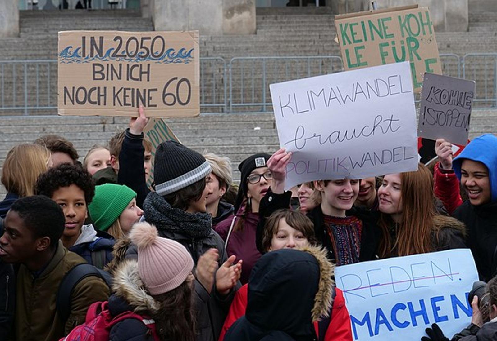 "Salzland-Grüne unterstützen ""fridays for future"""