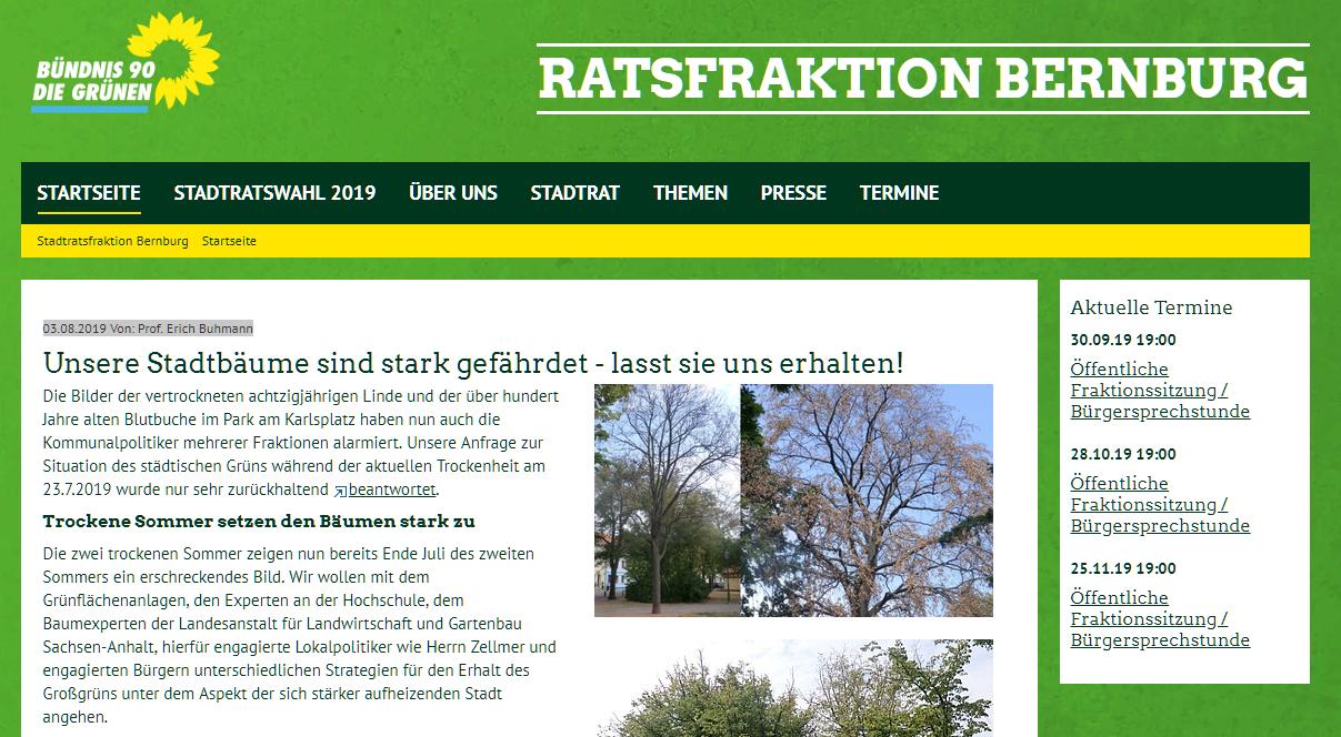 Link: Unsere Stadtbäume sind stark gefährdet – lasst sie uns erhalten!