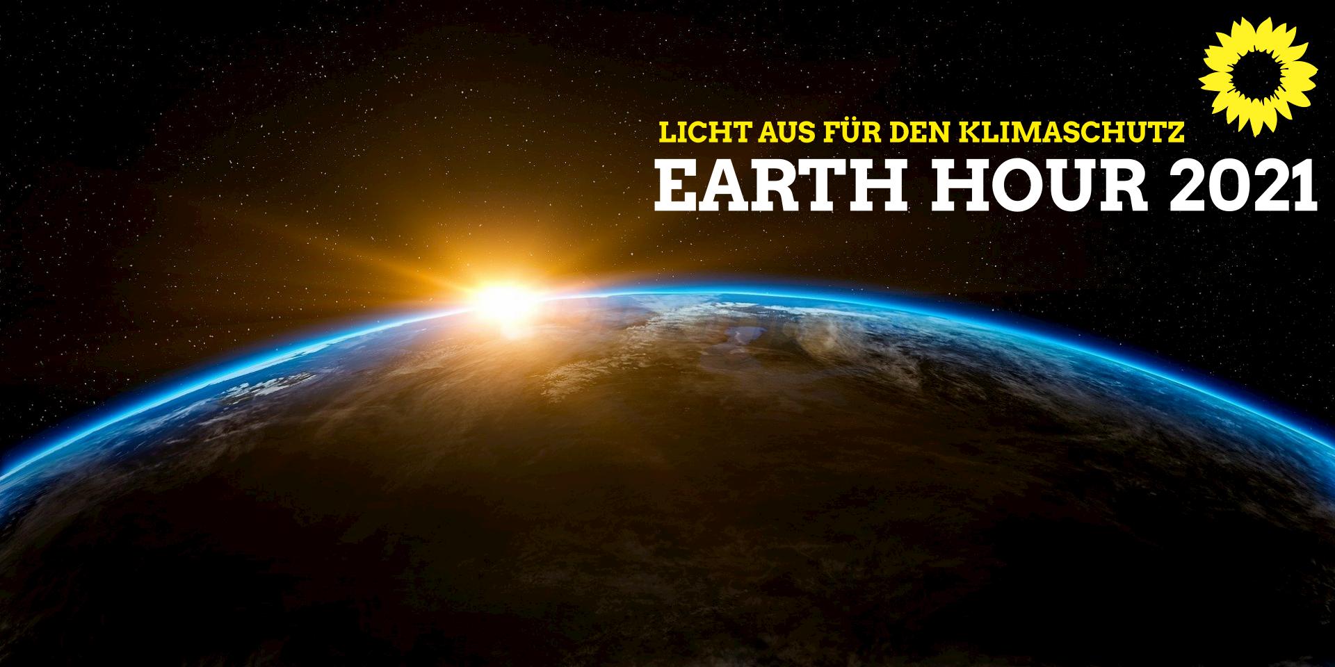 EARTH HOUR 2021 – Licht aus für den Klimaschutz